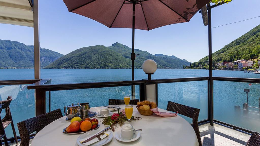 Hotel riviera melide lago di lugano ceresio ticino svizzera for Design hotel tessin